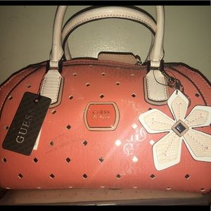 Guess purse  tangerine color